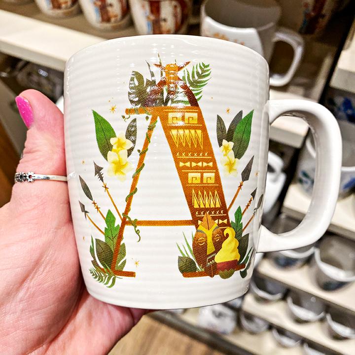 ABC's of Disney Mugs - A is for Adventureland