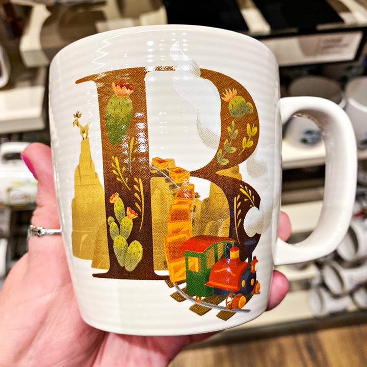 ABC's of Disney Mugs - B is for Big Thunder Mountain Railroad