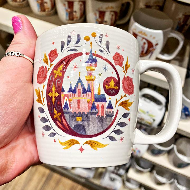 ABC's of Disney Mugs - C is for Sleeping Beauty's Castle