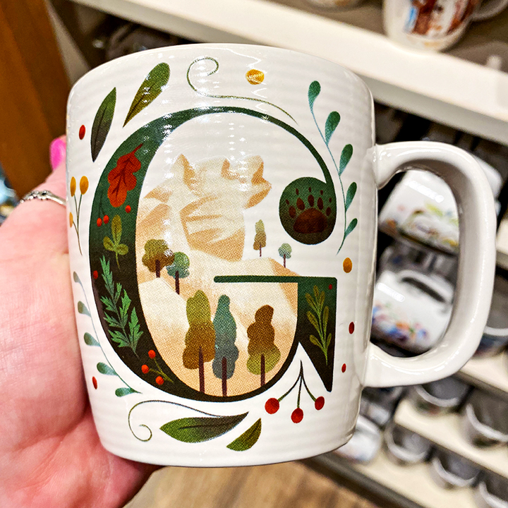 ABC's of Disney Mugs - G is for GRR Grizzly River Run