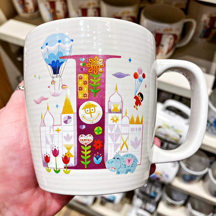 ABC's of Disney Mugs - I is for it's a small world