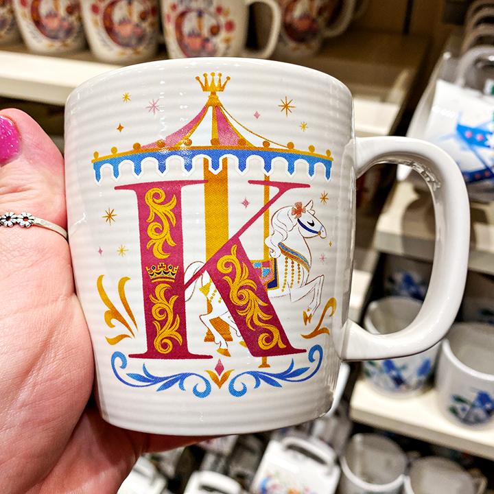 ABC's of Disney Mugs - K is for King Arthur Carousel
