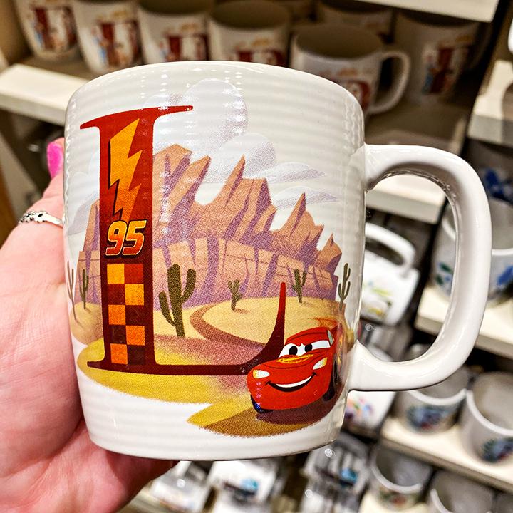 ABC's of Disney Mugs - L is for Lightning McQueen Radiator Springs