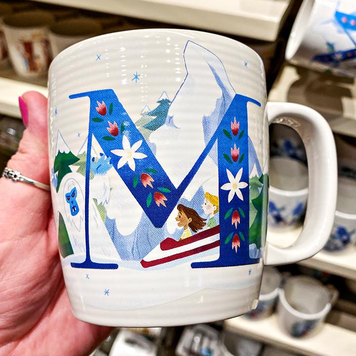 ABC's of Disney Mugs - M is for Matterhorn Bobsleds