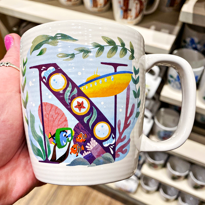 ABC's of Disney Mugs - N is for Finding Nemo Submarine Voyage