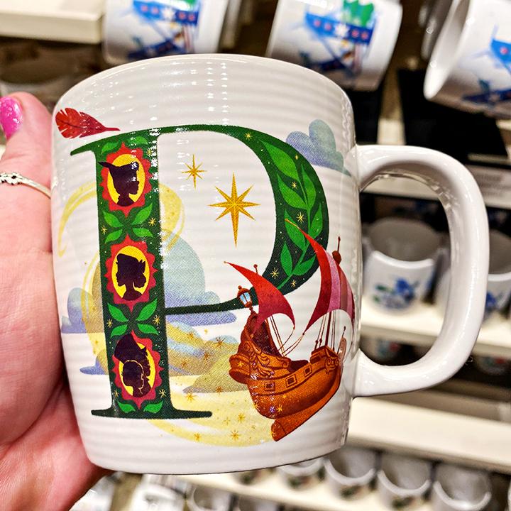 ABC's of Disney Mugs - P is for Peter Pan's Flight