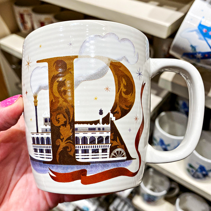 ABC's of Disney Mugs - R is for Riverboats