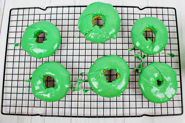 Monsters Inc Mike Wazowski Donuts